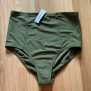 BRAND NEW old navy high waisted bikini bottoms